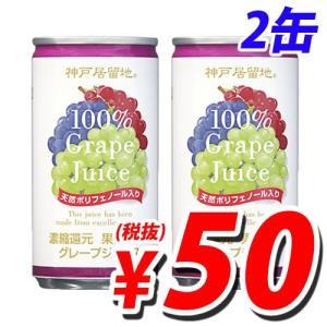 神戸居留地 グレープ100% 185g×2缶セット|kilat