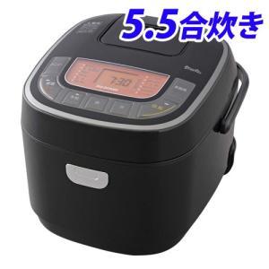 『代引不可』 アイリスオーヤマ 米屋の旨み 銘柄炊き ジャー炊飯器 5.5合 ブラック RC-MC5...