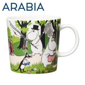 Arabia アラビア ムーミン マグ バカンスへ行こう Going on vacation 300ml マグカップ 2018年夏季限定 『8月20日まで期間限定価格』