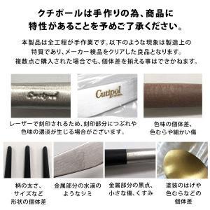 Cutipol クチポール GOA Black ゴア ブラック Dessert knife デザートナイフ|kilat|04