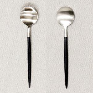 Cutipol クチポール GOA Black ゴア ブラック Tea spoon/Coffee spoon ティースプーン/コーヒースプーン kilat 03
