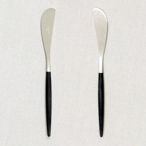 Cutipol クチポール GOA Black ゴア ブラック Butter knife バターナイフ|kilat|03