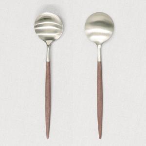 Cutipol クチポール GOA Brown ゴア ブラウン Dinner spoon/Table spoon ディナースプーン/テーブルスプーン|kilat|03
