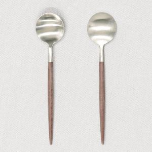 Cutipol クチポール GOA Brown ゴア ブラウン Tea spoon/Coffee spoon ティースプーン/コーヒースプーン|kilat|03