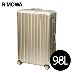 リモワ RIMOWA トパーズ チタニウム 98L TOPAS TITANIUM マルチホイール スーツケース 924.77.03.4|kilat