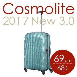 サムソナイト コスモライト3.0 スピナー 69cm レースアイスブルー Samsonite Cosmolite 3.0 Spinner V22-61-306 68L