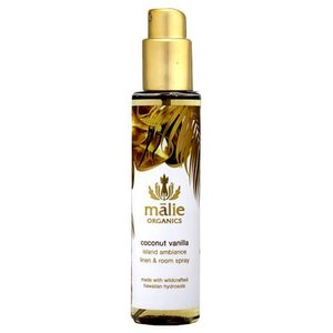 Malie Organics マリエ オーガニクス リネン&ルームスプレー ココナッツバニラ 148...