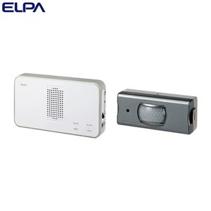 ELPA ワイヤレスチャイム センサーセット (受信器・送信器) EWS-S5033