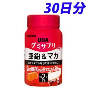 UHA味覚糖 グミサプリ 亜鉛&マカ 30日分ボトル...