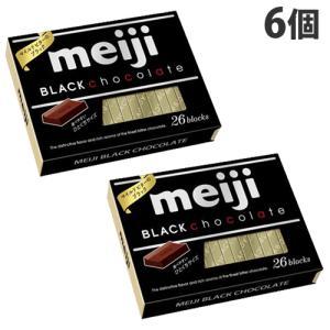 明治 ブラックチョコレートBOX 26枚×6個
