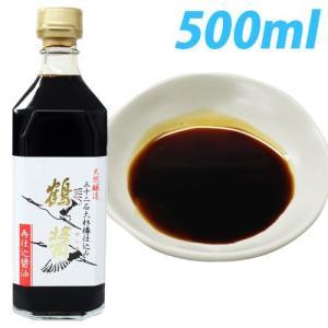 『小豆島』樽仕込み ヤマロク醤油 再仕込み醤油 鶴醤 500ml