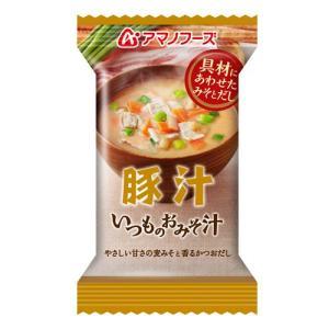 アマノフーズ いつものおみそ汁 豚汁12gの商品画像