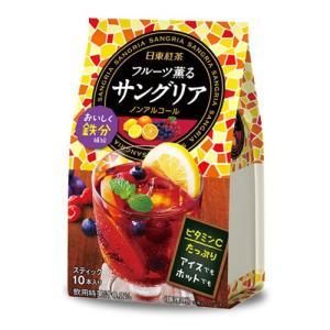日東紅茶 フルーツ薫るサングリア 10本入...