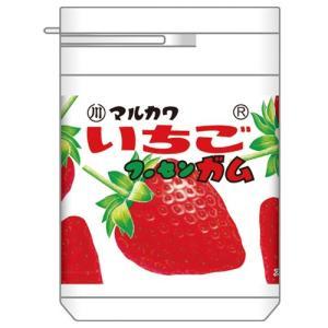 マルカワ いちごマーブルガム ボトル 130g...
