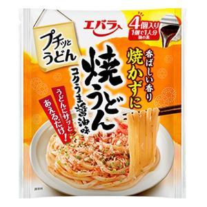 エバラ食品 プチッとうどん 焼うどん コクうま醤油味 22g×4|kilat