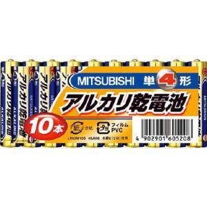 三菱電機 アルカリ乾電池単4形10本パック 1PKの関連商品2