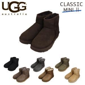 UGG アグ クラシックミニ II ムートンブーツ ウィメンズ 1016222 Classic Mi...