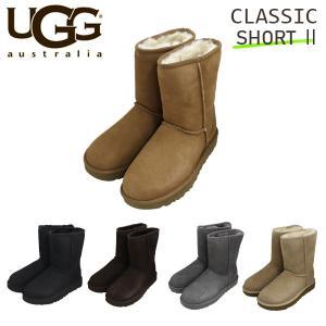 UGG アグ クラシックショート II ムートンブーツ ウィメンズ 1016223 Classic ...