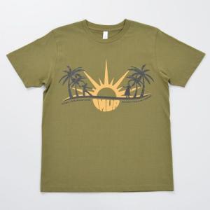 ハワイ Tシャツ IMUA(イムア) 東北チャリティー カーキ|kilaware