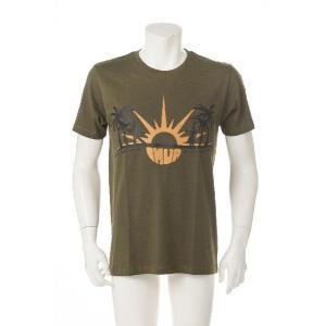 ハワイ Tシャツ IMUA(イムア) 東北チャリティー カーキ|kilaware|03