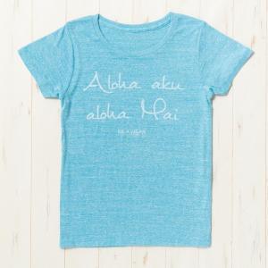 熊本応援Tシャツ 杢水色 レディース|kilaware