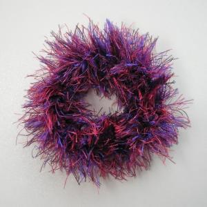 ハワイアン・クロシェットシュシュ オーキッド 紫|kilaware