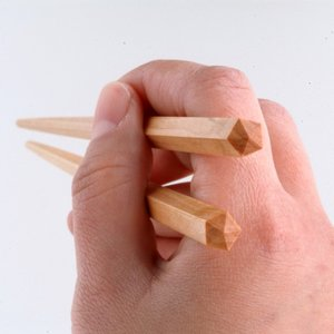 ハワイアン 箸 斧折樺の五角ばし Poina Ole 大 23cm 東北 ネコポス可 kilaware 03