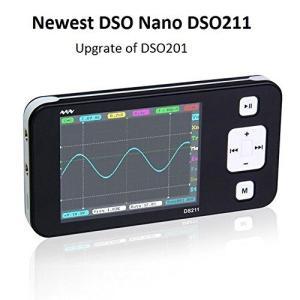 SainSmartサインスマート 更新DSO201-> DS211 ARMナノNano ミニ収納ポケットポータブル ハンドヘルド デジタル |kimakai