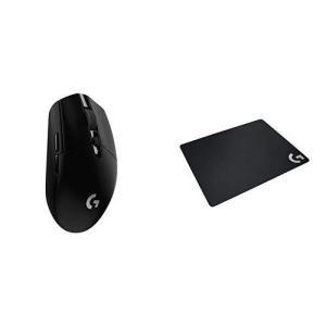 ロジクール ワイヤレス ゲーミングマウス Logicool G304 ブラック 軽量 HEROセンサ...