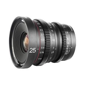 Meike MK-25mm-F1.8大口径広角マニュアル フォーカス APS-Cカメラレンズ for...