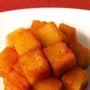 大根キムチ(カクテキ) 発酵食品 1kg 韓国ハンウル|kimchiland|02