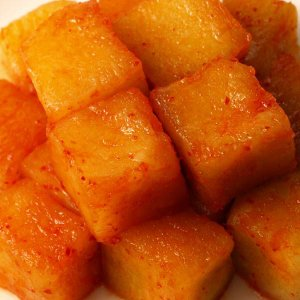大根キムチ(カクテキ) 発酵食品 1kg 韓国ハンウル|kimchiland|03