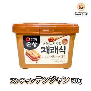 生 テンジャン 豆味噌 500g 韓国産|kimchiland