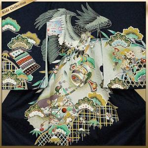 男の子 男児用 産着 祝着 初着 のしめ 熨斗目 お宮参り 帽子セットプレゼント中|kimono-cafe