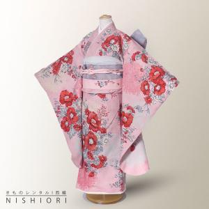 JILLSTUART ジルスチュアート 七五三 レンタル 四つ身 着物 20点フルセット 貸衣装  ...