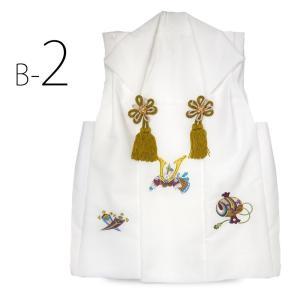 男児 被布コート 豪華 金刺繍 単品 選べる3色 古典 レトロ 3才 三才 和装 着物 七五三 お祝い着に最適|kimono-cafe|05