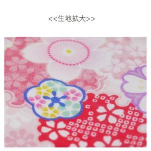 和柄 御朱印帳 布地 ケース 巾着 袋 小紋 日本製[プレゼントにも最適!]【ゆうパケット可】|kimono-cafe|03