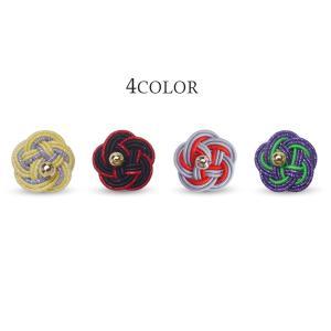 水引 イヤリング 黄色 赤 紫 黒 和・洋 着物 浴衣 振袖 にも最適 ゆうパケット 送料無料|kimono-cafe|04