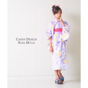 キッズ ミュール サンダル 子供 下駄 選べる2色 5サイズ 女の17cm/18cm/19cm/21cm/23cm kimono-cafe 04