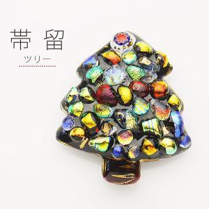 七宝焼[四季暦](ツリー)高級帯留め 帯飾り 高級ケース付 kimono-cafe