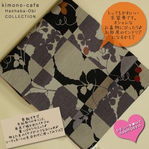 WA KKA 遊禅庵 正絹 物語ありの素敵な柄の染京袋帯お洒落着やインテリアやイベント 市松ネコ|kimono-cafe