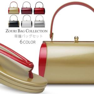 シンプル上品な振袖用草履バッグセットです。 振袖はもちろん、訪問着・小紋等にもご使用頂けます。 数に...