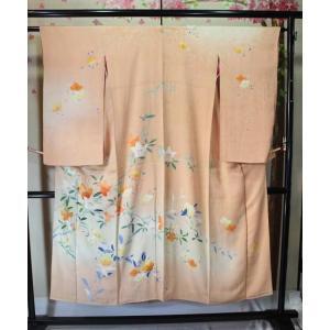アンティーク/ 百合花の友禅の訪問着|kimono-himesakura