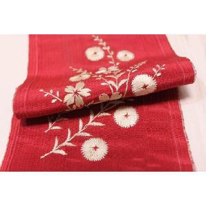 アンティーク/ 花模様の半衿|kimono-himesakura