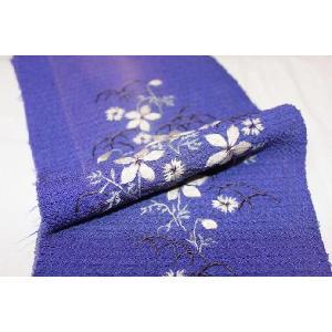 アンティーク/ 縮緬・花刺繍の半衿|kimono-himesakura