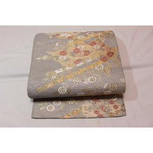 未使用/ 花苗模様の夏の袋帯|kimono-himesakura
