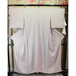 新品/ 雪輪に友禅の付下げ(単)|kimono-himesakura