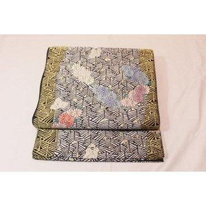 新品/ 京洛苑たはら・唐織と別珍の袋帯|kimono-himesakura
