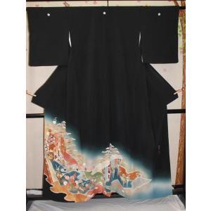 中古・リサイクル/ 松井青々の黒留袖|kimono-himesakura