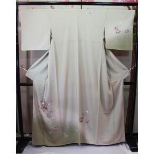 未使用/ 友禅の付け下げ (大寸)|kimono-himesakura